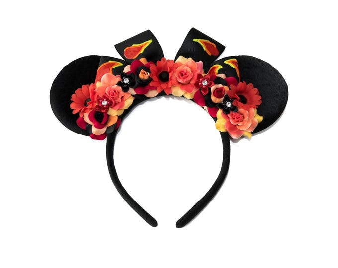 Te Ka Mouse Ears Headband