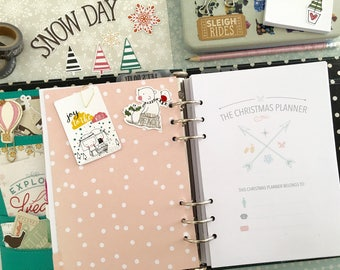 Christmas Planner - Holiday Planner - Christmas Planner Inserts - Printable Christmas Planner - Christmas Organiser - Instant Download