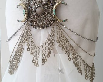 Eclipse MataHari Belt - Vintage, Zardozi, Bridal