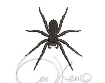 MACHINE EMBROIDERY DESIGN - Spider