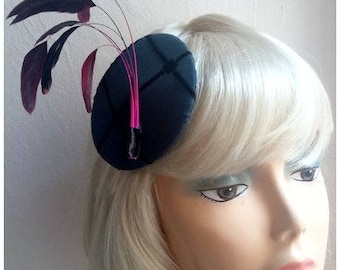 Petrol headpiece, headdress with feathers!