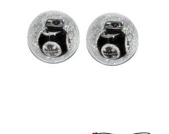 BB-9E Dome Earrings - Star Wars The Last Jedi BB9