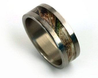 camo ring camo wedding ring camoflauge wedding camoflauge ring hunting gifts - Mossy Oak Wedding Rings
