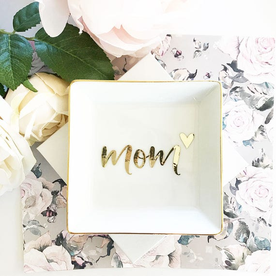 Mom Gift Mom Jewelry Dish Mom Birthday Gift for Mothers Day Gift for ...