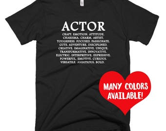 Kids Actor T-Shirt, Youth Actor Shirt, Child Actor, Actor Quote, Acting Quote, Theatre Shirt, Gifts for Actors, Actor Gift, Actor Shirt