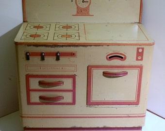 Vintage, 'Wolverine', toy oven / stove 1950s era