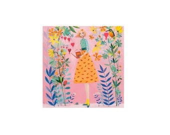 Square card by Mila Marquis
