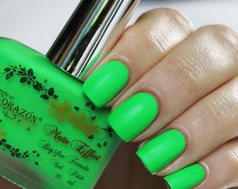 """El Corazon Nail polish """"Matte Effect Neon"""" 145 16 ml nail polish"""