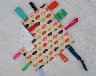 Baby Taggie Blankie 'Japanese Fans'