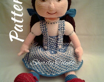 PATTERN - Dorothy - Crochet Amigurumi Pattern