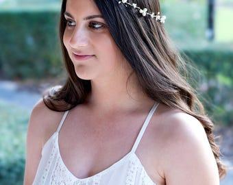 ESTER - Bridal hair vine, bridal Comb, Wedding headpiece, Bridal Headpiece, Wedding Comb,