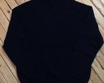 Eddie Bauer Sweater Wool Crewneck Pullover