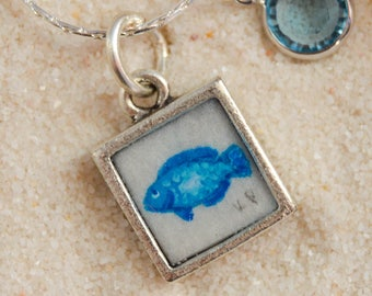 Tiny Painting - Fish