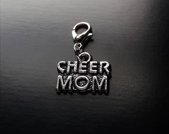 Cheer Mom Dangle Charm for Floating Lockets-Gift Ideas for Women