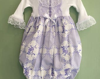 Fancy Purple Coming Home Outfit, Baby Girl Take Home Outfit, Newborn Girl Photo Outfit, Going Home Outfit, Baby Gown and Headband, Layette
