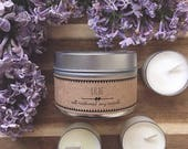 LILAC // Soy Candle. Natural Candle. Scented Candle. Eco Friendly. Vegan Friendly. Birthday Gift. Gift for Her.