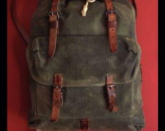 Vintage Swiss Army Patrol Backack