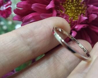 Custom Service: Add a ring engraving