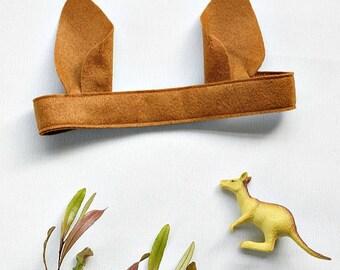 Kangaroo Ears - Book Week - Kids Costume - Australian Animal - Kangaroo Costume - Wallaby - Dog  - Boy costume  - Toddler Costume