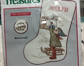 Needle Treasures Hummel Counted Cross Stitch Stocking Kit