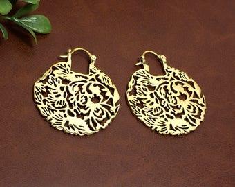 Ethnic Design Bras Earring