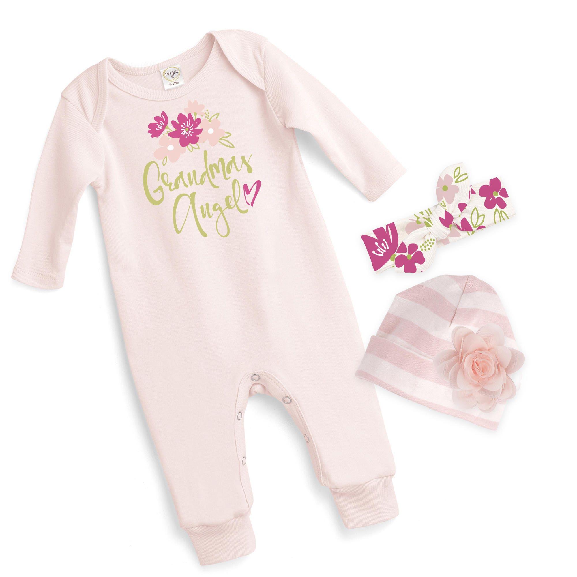 Grandma S Baby Girl Outfit Newborn Baby Girl Coming Home Gift Baby
