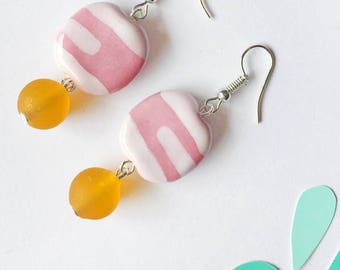 Pretty In Pink - Earrings