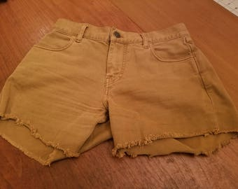 Vintage brown shorts size small