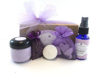 Lavender Bath and Body Gift Set