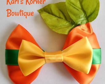 Disney Inspired Bow - Orange Bird
