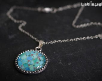 Mermaid Necklace with Glitter