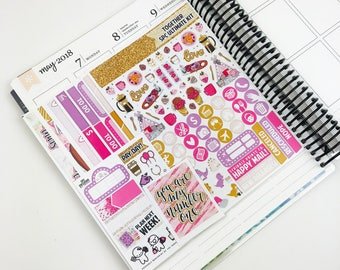 Together // Ultimate Weekly Planner Kit (Glossy Planner Stickers)