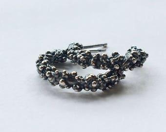 Spore Hoop Earrings