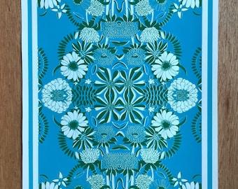 Floral Print | Original Screen Print