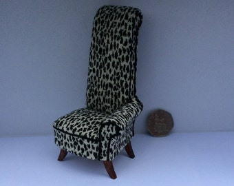 Ultra Modern 21st Century Armchair in 1/12th scale