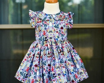 Alice in Wonderland Periwinkle Leighton Dress