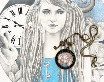 Locket Alice the Wonderland