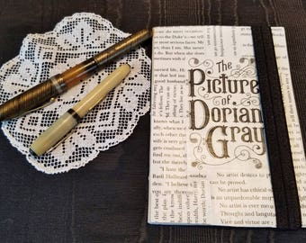 Picture of Dorian Gray Journal, Book Page Journal, Blank Page Journal, Oscar Wilde, One of a Kind, Book Journal, MarjorieMae