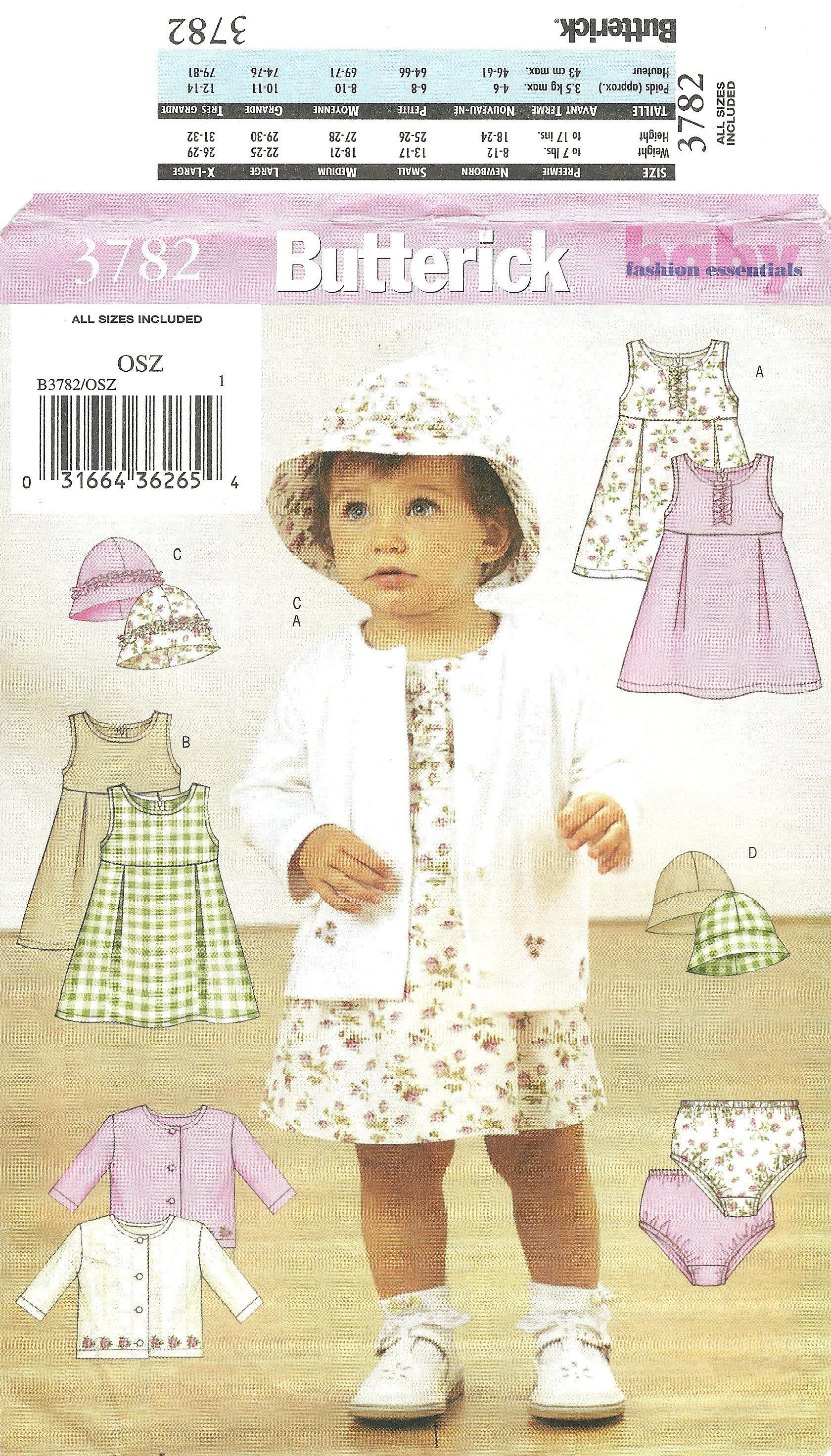 Infants\' Jacket Dress Panties and Hat Babies Sundress