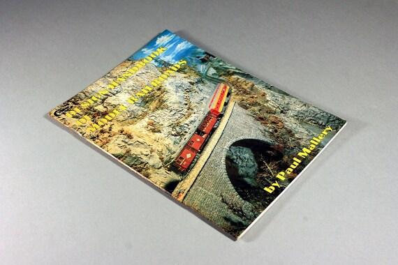 1990 Paperback, Design Handbook of Model Railroads, Paul Mallery, Model Railroad, Hobbie Book, Reference Book, Illustrated, B&W Photography