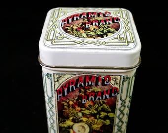 Pyramid Brand Tobacco Tin