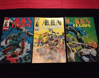 Epic Comics  ALIEN LEGION  Set of 3