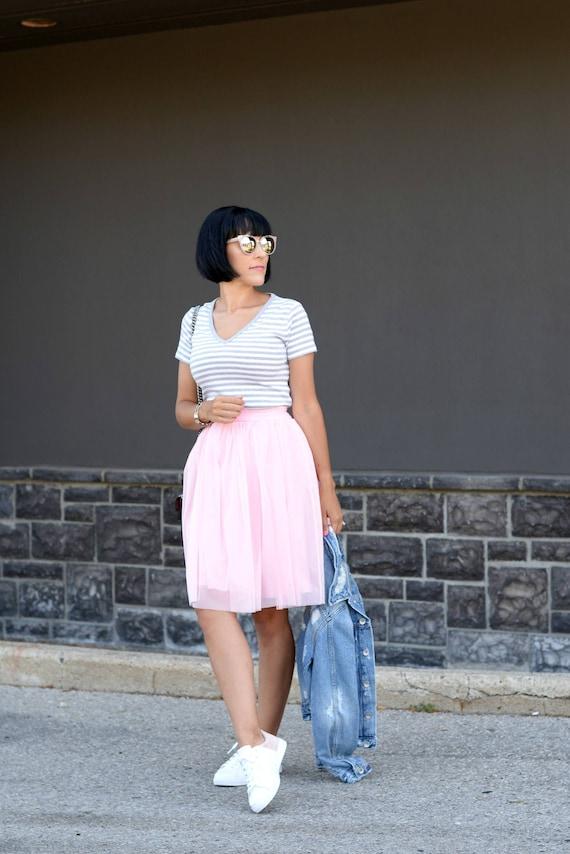 Short Soft Tulle Skirt