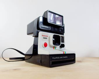 Polaroid Supercolor 1000 + Polatronic Flash