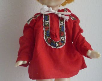 "Vintage - Russian doll - 1970-47 cm / 18.5 """