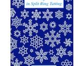 Snowflakes in Split Ring Tatting