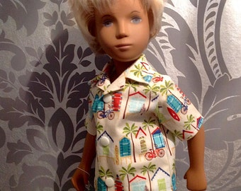 Sasha Doll Gregor Boy Shirt - Surf's Up!