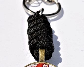 Keychain Roger Rabbit/29 color choices/Jessica/pinup/Paracord/key chain