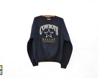 1996 Vintage Dallas Cowboys Crew Neck Sweatshirt