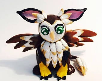 Polymer Clay Barn Griffin - SPECIAL OFFER - SALE
